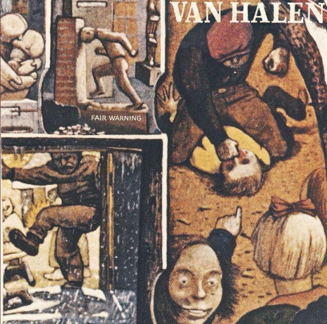 VAN HALEN - FAIR WARNING (REMASTERED)  CD NEU
