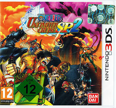 Nintendo 3DS Dual Screen Spiel * One Piece: Unlimited Cruise SP 2 * SP2 *NEU*NEW online kaufen