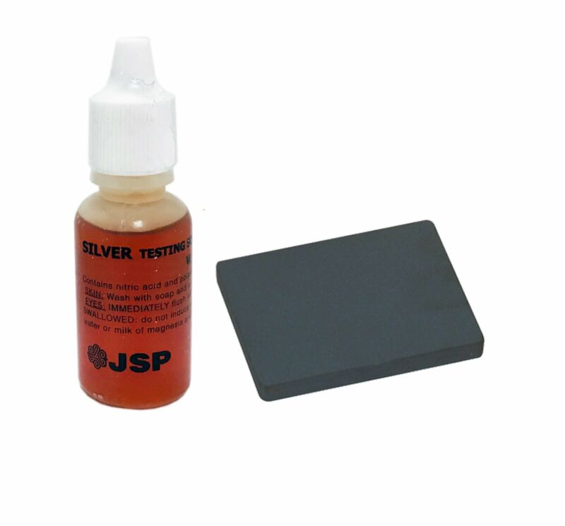 New Silver Jewelry Testing Kit Silver Acid Test Liquid with Stone