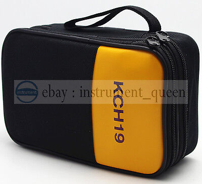 Double Layer Zipper Case Use For Fluke Multimeters 15b 17b 18b 115 116 117 175