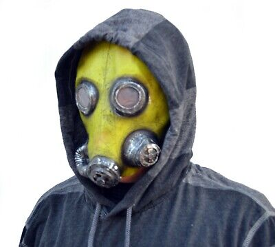 Creepy Masks Halloween (Creepy Halloween Gas Mask Costume Party Toxic Radiation biochemical)
