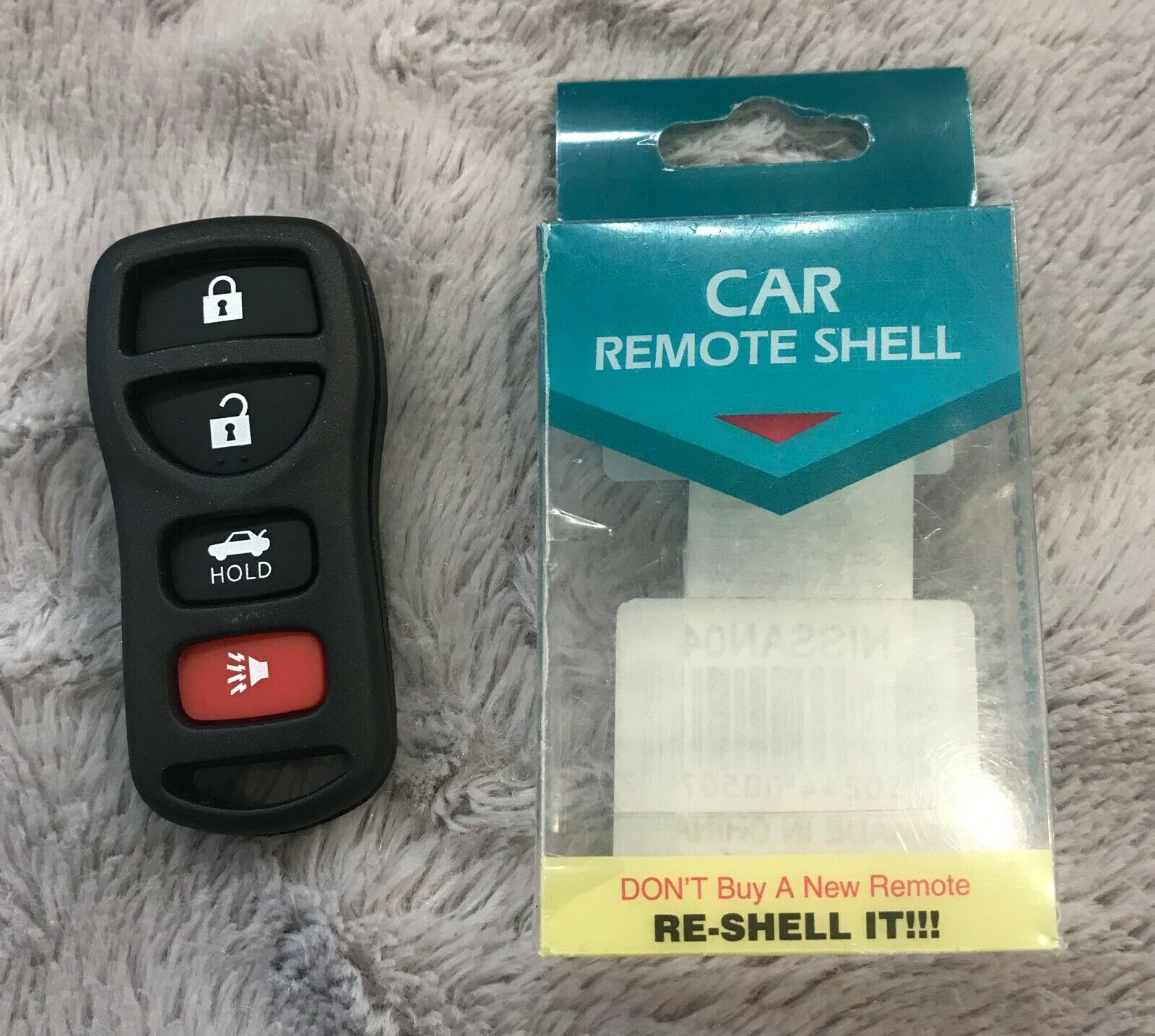 NEW Replacement KEYLESS ENTRY REMOTE KEY FOB SHELL CASE 4 Button PAD KBRASTU15