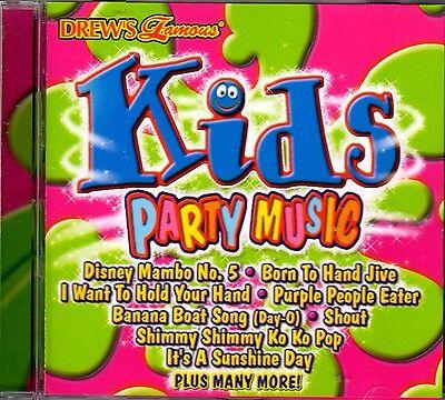 Drews Famous Kids Party Music  Summer Birthday Pool Fun Songs Disney Mambo  5