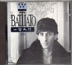 FRANCO-BATTIATO-CD-OMONIMO-SAME-fuori-catalogo-1A-STAMPA-1986-made-in-SVIZZERA