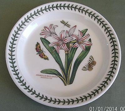 Portmeirion Botanic Garden Salad Plate Belladonna Lily