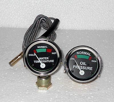 Massey Ferguson Temp Oil Pr Male Gauge Set Te20 T020 T030 50 Plus