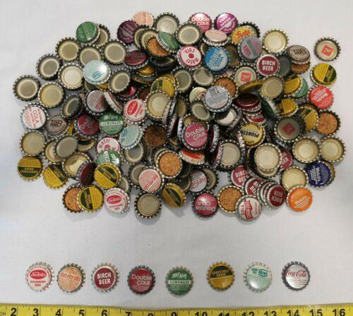 Lot of 20 Assorted Vintage Soda Bottle Caps Soft Drink Pop Unused