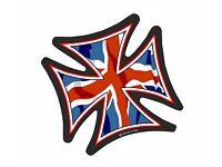 British Royal Coat of Arms Cell Phone Sticker United Kingdom flag GBR GB 2x