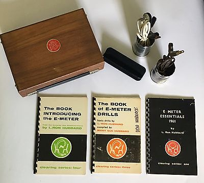 Scientology - Mark V E-Meter + E-Meter Introduction, Essentials & Drills Books