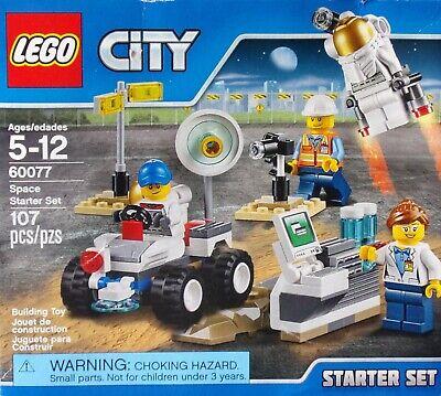 LEGO CITY SPACE STARTER SET 60077 Factory Sealed