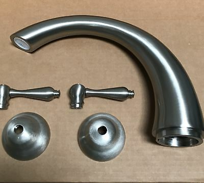 Series Double Handle - Double Handle Roman Tub Filler Faucet Trim from the Revere & Savannah Series