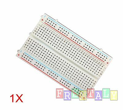 1X Mini 400 Points Prototype PCB Solderless Breadboard Protoboard