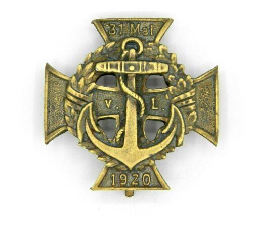 WW1 Imperial German Marine Brigade Von Lowenfeld Merit Cross Badge 2