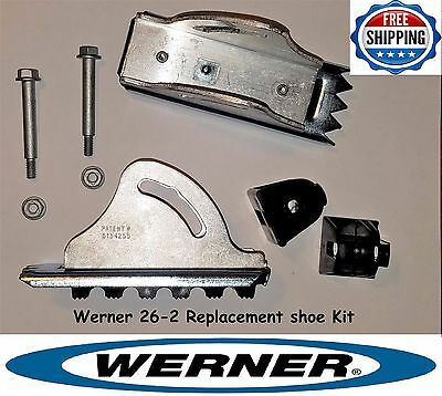 Werner 26-2 - Replacement Shoe Feet Kit - Aluminum Extension Ladder Parts