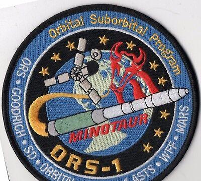 Original USAF VAFB 1ASTS ORS-1 Satellite Launch Aboard a Minotaur Rocket Patch