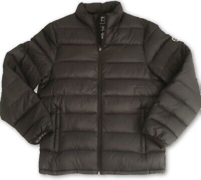 Abercrombie and Fitch Lightweight Down Black Puffer Jacket - Small