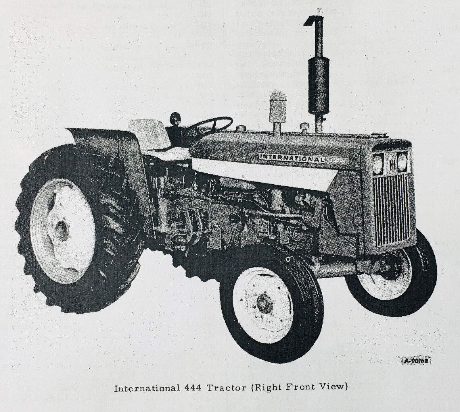 Details about INTERNATIONAL IH 444 2444 TRACTOR PARTS EMBLY MANUAL on
