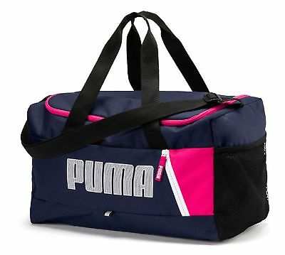 PUMA Fundamentals Sports Bag Graphic S II Sporttasche Peacoat Blau c1e259cbf4203