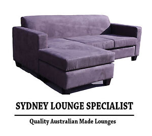 Brand new aus made mossvale 3 seater chaise lounge mink for 3 seater chaise lounge