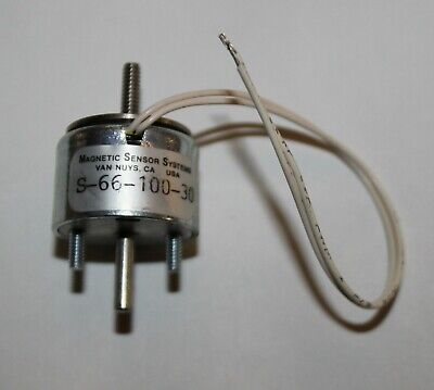 Magnetic Sensor Systems S-66-100-30 Low Profile Linear Solenoid 6.9 - 21.7v Dc