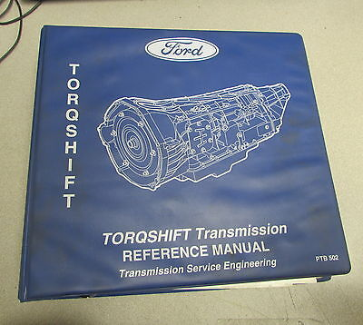 Ford Torqshift Transmission Service Engineering Reference Manual 2004