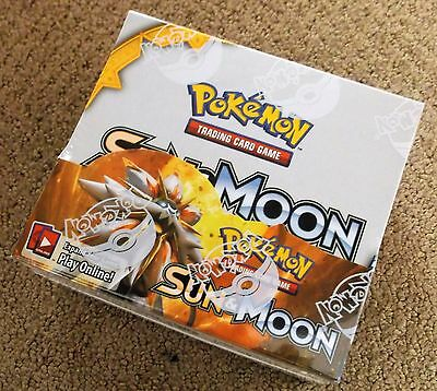 POKEMON SUN & AND MOON BOOSTER BOX FREE PRIORITY MAIL SHIPPING