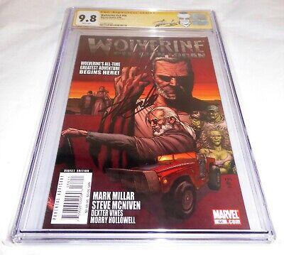 "Wolverine #v3 #66 CGC SS 9.8 Signature Autograph STAN LEE ""Old Man Logan"" Begins"