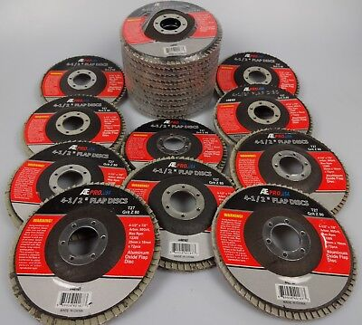 Lot Of 20 4 12 X 78 Flap 80 Grit Wheel Sanding Disc Aluminum Oxide