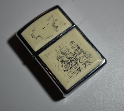 Vintage Collectible Zippo Lighter- Bradford PA XIII Made In U.S.A
