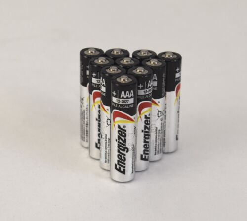 Energizer AAA E92 Alkaline Batteries Exp. 12/2027 Bulk Pack