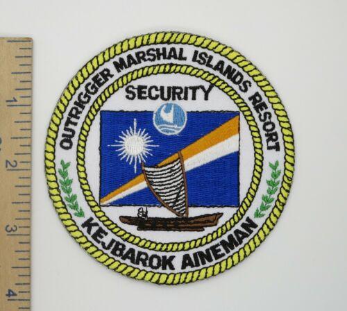 MARSHAL ISLANDS OUTRIGGER RESORT SECURITY POLICE PATCH Original Vintage