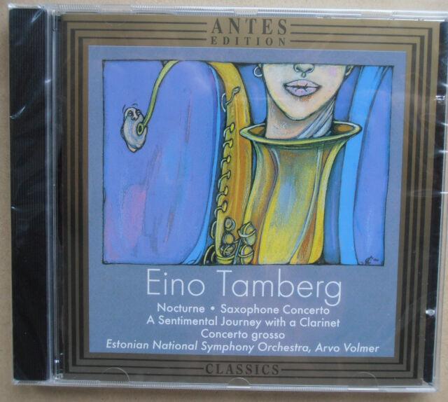 Eino Tamberg - Nocturne, Concerto grosso - Estonian Orchestra - CD neu & OVP