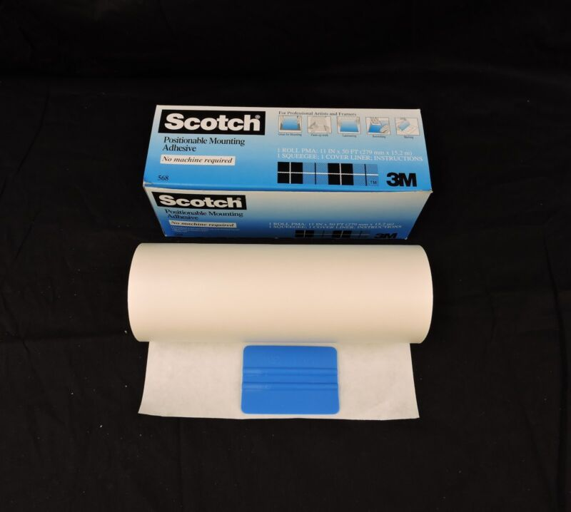 "3M #568 PMA Adhesive Roll - 11""x50"