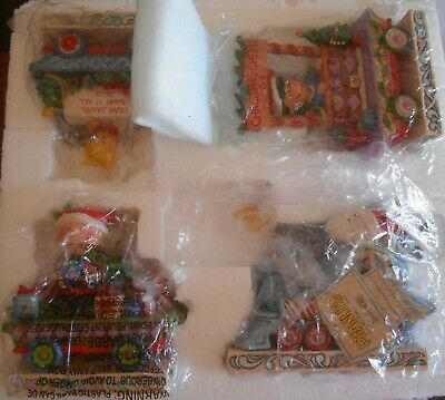 Jim Shore Peanuts Deluxe Train Set of 4 Christmas Figurine 6002332 SALLY Car