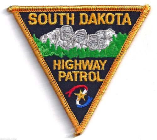 SOUTH DAKOTA HIGHWAY PATROL - SMALL SHOULDER PATCH - IRON OR SEW-ON PATCH