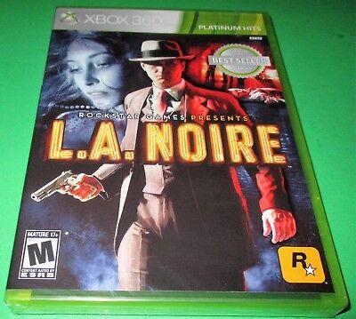 L.A. Noire Microsoft Xbox 360 *Factory Sealed! *Free Shipping!, usado comprar usado  Enviando para Brazil