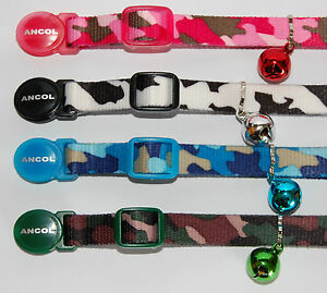 ANCOL-CAMOUFLAGE-CAT-COLLAR-FREE-ENGRAVED-ID-TAG