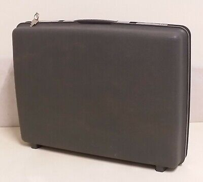 Old Samsonite Suitcase Suitcase Hard Case with Key Anthracite