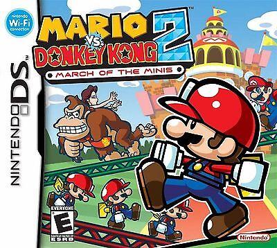 Mario vs. Donkey Kong 2: March of the Minis - Ds comprar usado  Enviando para Brazil
