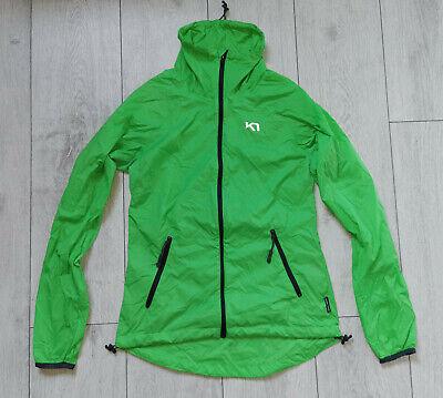 "Kari Traa Ultralight Green Zipped ""S"" Jacket Womens"