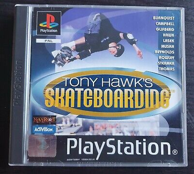 Tony Hawk's Skateboarding  (Sony PlayStation 1,) - European Version