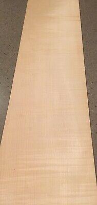 Curly Maple Wood Veneer 5 Sheets 38 X 9.5 12 Sq Ft