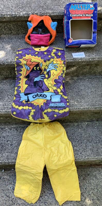 Vtg 1982 ORKO Masters Of The Universe BEN COOPER Halloween Costume Mask w/ Box