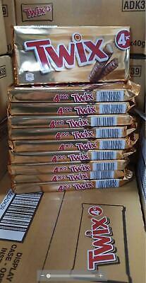 40 TWIX Bars! 2 Finger (10 x 4 Packs) Best Before 07.02.2021