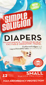 Small Dog Diapers