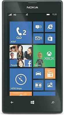 NEW Nokia Lumia 520 - Black (Unlocked) GSM 3G WiFi Windows Touch Smartphone