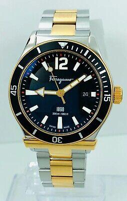 Salvatore Ferragamo Men's FF3160014 Sports Two-Tone Watch