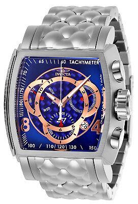 (Invicta Men's 27955 S1 Rally Quartz Multifunction Blue, Rose Gold Dial Watch)