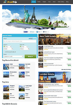 Flight Hotel Car Rental Search Engine And Comparison Website - Autopilot