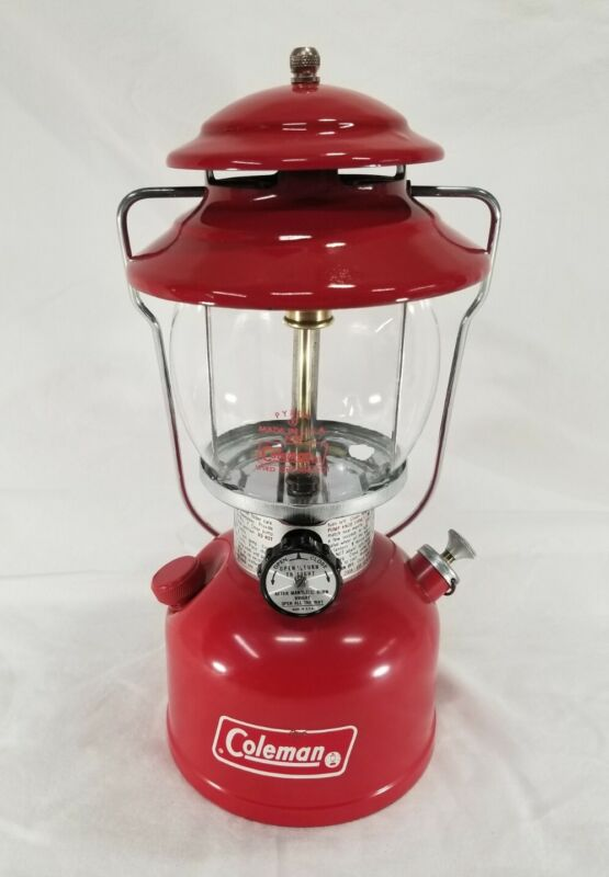 Vintage 1978 Coleman Red 200A Single mantel camping Lantern 6/78 June Unfired!?